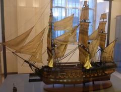 2009 Paris: muse des Arts et Mtiers #6 (dominotic) Tags: paris france museum boat ship sail sailingboat inventors musedesartsetmtiers