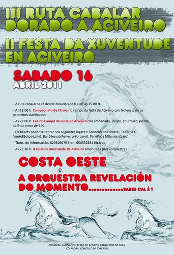 Forcarei 2011 - Festa da Xuventude en Aciveiro - cartel 1