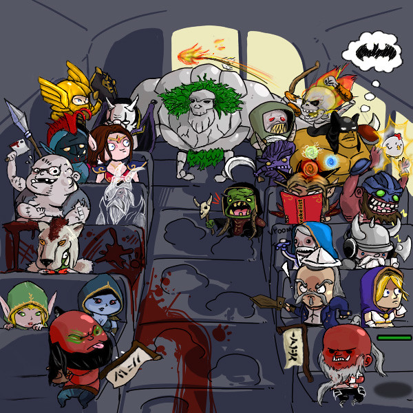 the DotA bus ride