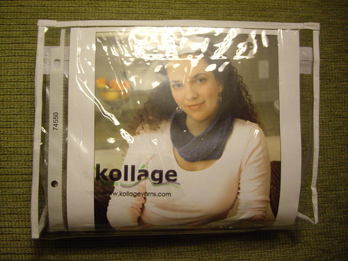One of the Kollage Yarns prizes for STITCHES South 2011 PJ Party