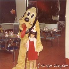 disneyland pluto 1983