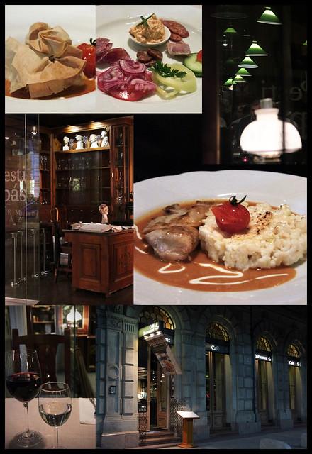 Cafe restaurant - Pesti Lampas - Budapest
