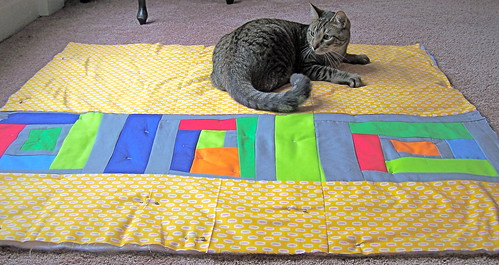 Kona solids Quilt Back