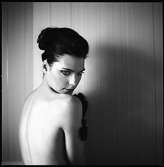 Happy endings X (__Daniele__) Tags: portrait 120 6x6 film monochrome analog blackwhite kodak hasselblad schwarzweiss tmy mittelformat