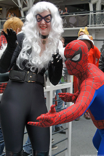 Kapow! Comic Con : Cosplay - Black Cat & Spider-Man by Craig Grobler