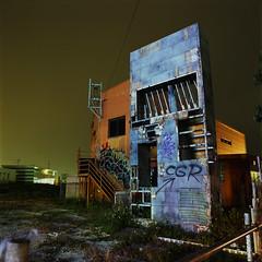 monolith (akira ASKR) Tags: night fuji bronica okinawa  provia provia100f chatan  bronicas2 rdpiii  zenzabronica