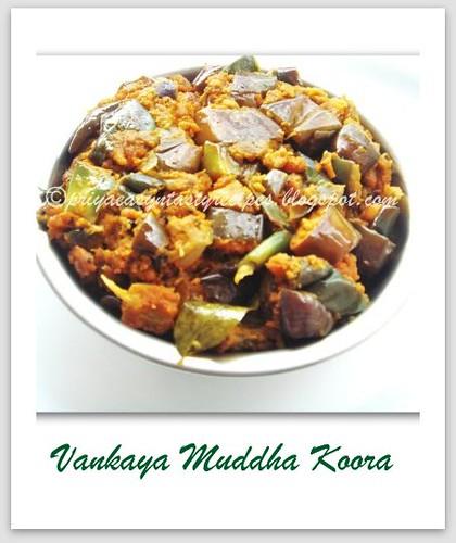 Vankaya Muddha Koora