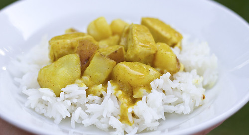 coconut peanut curry