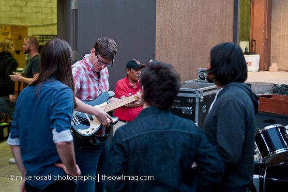 Hanging with Black Keys drummer Patrick