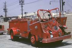 Pump 24 Apparatus Front End Damage 1966