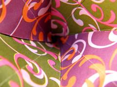 Conar 24, close view (Aneta_a) Tags: origami planar modularorigami kusudama closeview octahedralsymmetry