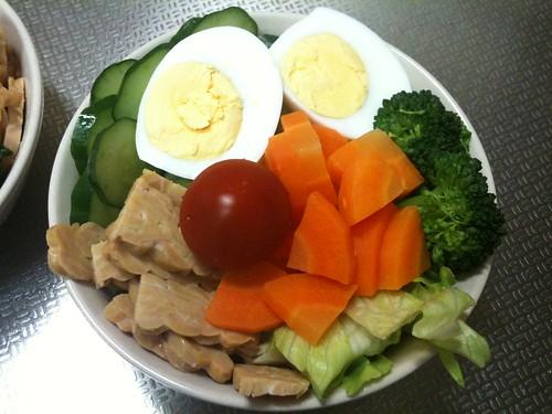 朝食サラダ(2011/4/23)
