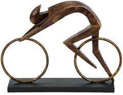 Ironman Triathlon Sculpture (Bicycle Gift Hub) Tags: desktop sculpture art bronze ironman tri triathlon triathlete
