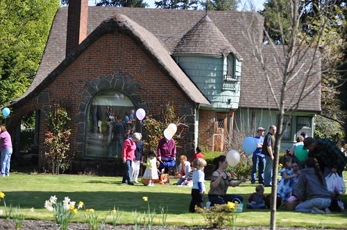 Maywood Park Easter Egg hunt