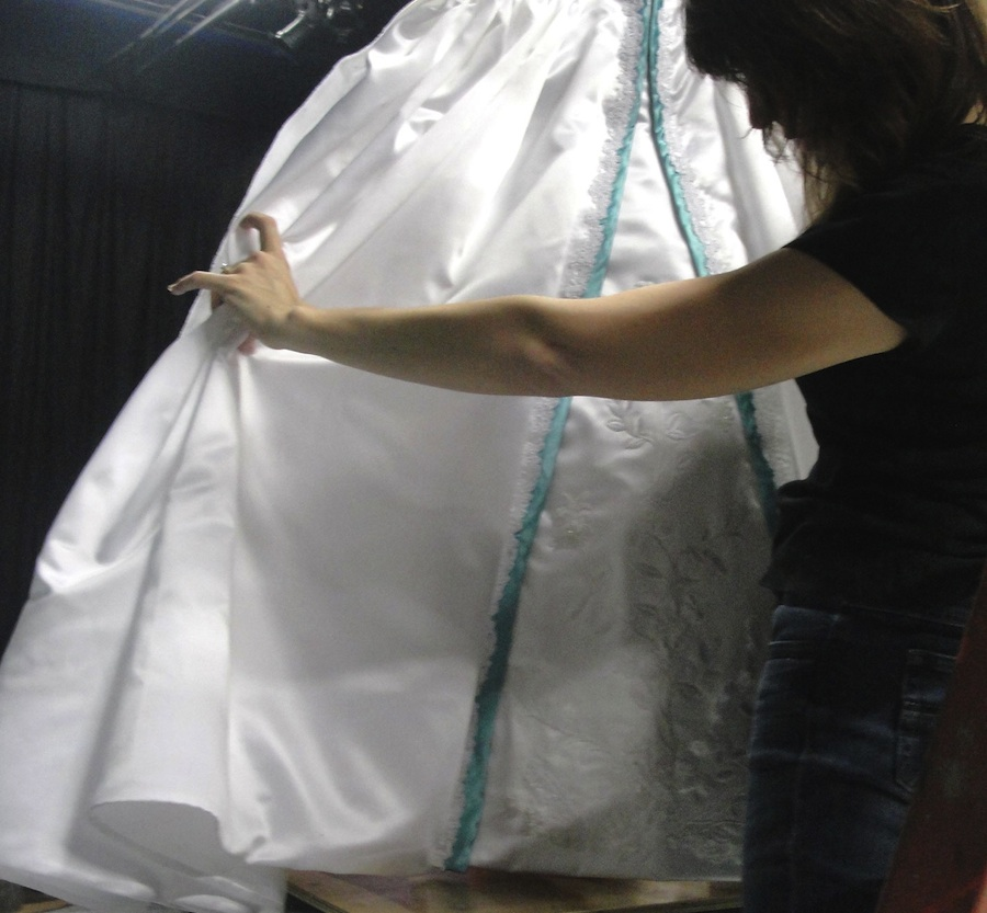First Look at the Royal Wedding Dress - Ariel's, That is