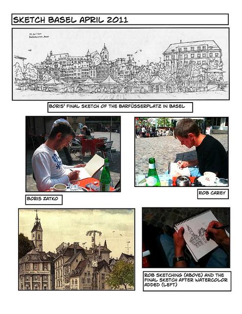 Basel sketching