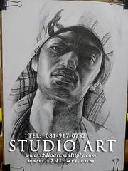 Portrait Drawing วาดเส้นคนเหมือน