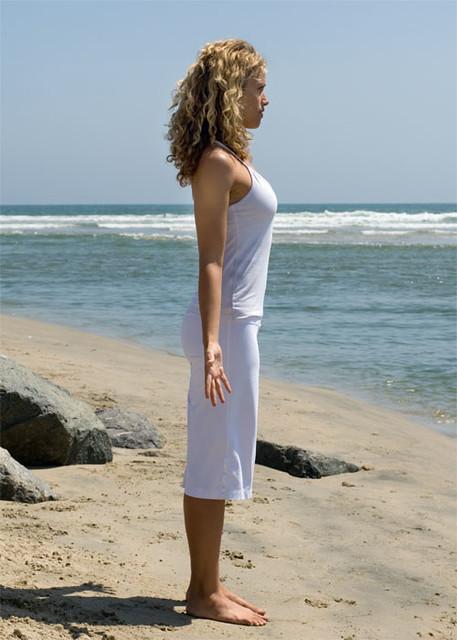 Yoga pose: Tadasana