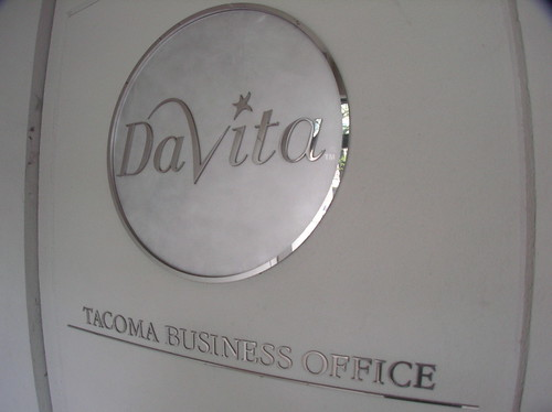 "DaVita Tacoma Business Office ""Promised""  $750,000.000 Parking Lot Ransom for Not Leaving Downtown"