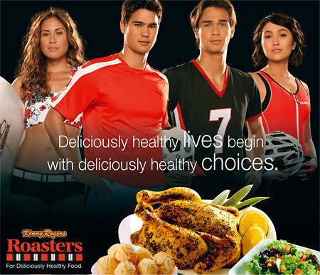 Kenny Rogers slogan for their healthy line of new dishes for us - CertifiedFoodies.com