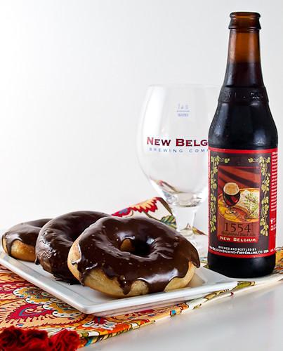 1554 Black Ale Doughnuts