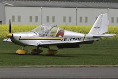 G-CCEM - 2003 build Aerotechnik EV-97A Eurostar, visiting Breighton (egcc) Tags: eurostar microlight pfa oxenhope ev97 breighton aerotechnik rotax912 gccem egbr 31513987