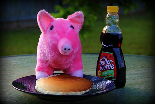 Day 120:  When You Give a Pig a Pancake