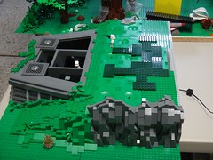 WIP Endor Bunker (brickplumber) Tags: starwars endor afol starwarslego fbtb episodevi