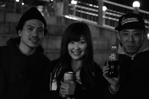 ryuji & Chika & KJ