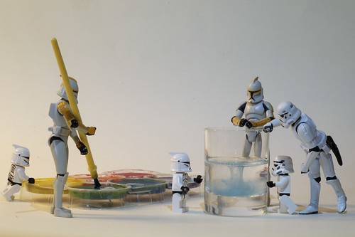 The Clones are making a homemade sea