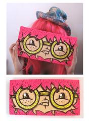 RCS-032 (-ROCHIO-) Tags: color glasses acrylic designer paintings canvas markers lentes monstruo personaje lienzo posca mosnter charactar rochio