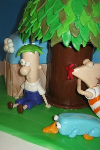 Phineas & Ferb Cake by Cake Maniac