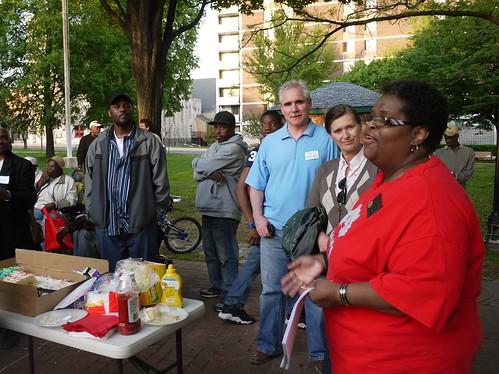 Arlene Fisher at the West Baltimore Squares Spring Celebration
