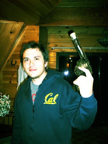 Mikey with gun