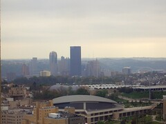 View from the Top of the Cathedral of Learning