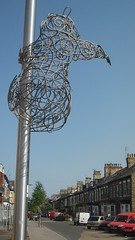 lamp post sculpture