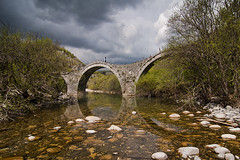 My Bridge to Cross (Faddoush) Tags: bridge hellas monk greece epirus zagoroxoria kalogeriko plakidas