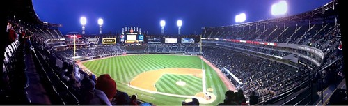 A better panorama of The Cell, formally known as US Cellular Field #WhiteSox #Photosynth