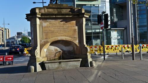 The Calder Fountain - Custom House Square, Belfast