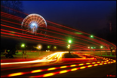 Niagara Falls Park Canada (Moniza*) Tags: longexposure light ny newyork reflection water night niagarafalls waterfall illumination niagara nightlight lightshow americanfalls lightstream niagarafallscanada niagarafallsusa flickrgoldaward moniza flickrsilveraward yourarthastouchedtheworldaward universaleliteaward andromeda50award flickrawardgallery