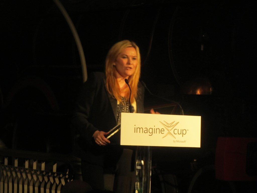 Microsoft Australia's Pip Marlow - 2012 Imagine Cup