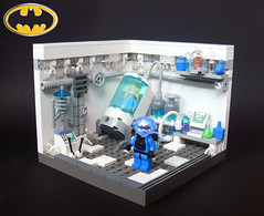 Mr. Freeze's Lab (Oky - Space Ranger) Tags: lab lego mr super victor nora fries freeze laboratory batman series animated heroes cryogenic