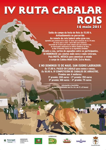 Rois 2011 -San Isidro - Ruta cabalar - cartel