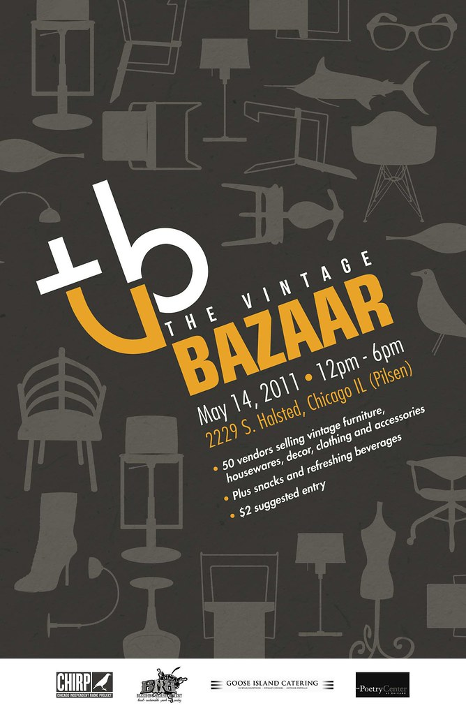 The Vintage Bazaar Poster - May 14, 2011