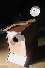 CSD DWELLING UNIT 1.6 (XAM BOT) Tags: street urban house bird art solar birdhouse modular 16 csd unit dwelling xam