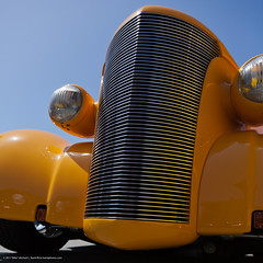 Clean lines of this yellow hot rod got my attention.   2011 Cruisin Show and Shine Morro Bay Car Show 07 May 2011 - from a set of 10 keepers (mikebaird) Tags: yellow hotrod morrobay crusing carshow customcar showandshine mikebaird 07may2011
