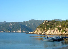 Van Phong Bay in Vietnam