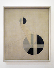 Moholy-Nagy, Composition A.XX with frame