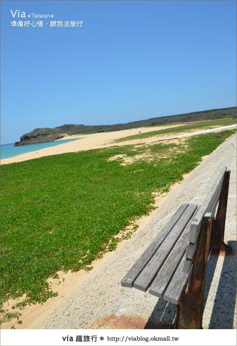 【澎湖沙灘】山水沙灘,遇到菊島的夢幻海灘!4