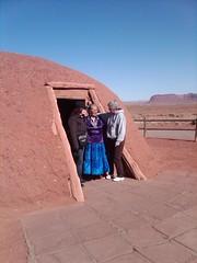 Hogan (Traditional Navajo Home) Monument Valley Arizona (Across Arizona Tours) Tags: arizona home monument traditional valley navajo hogan tours across